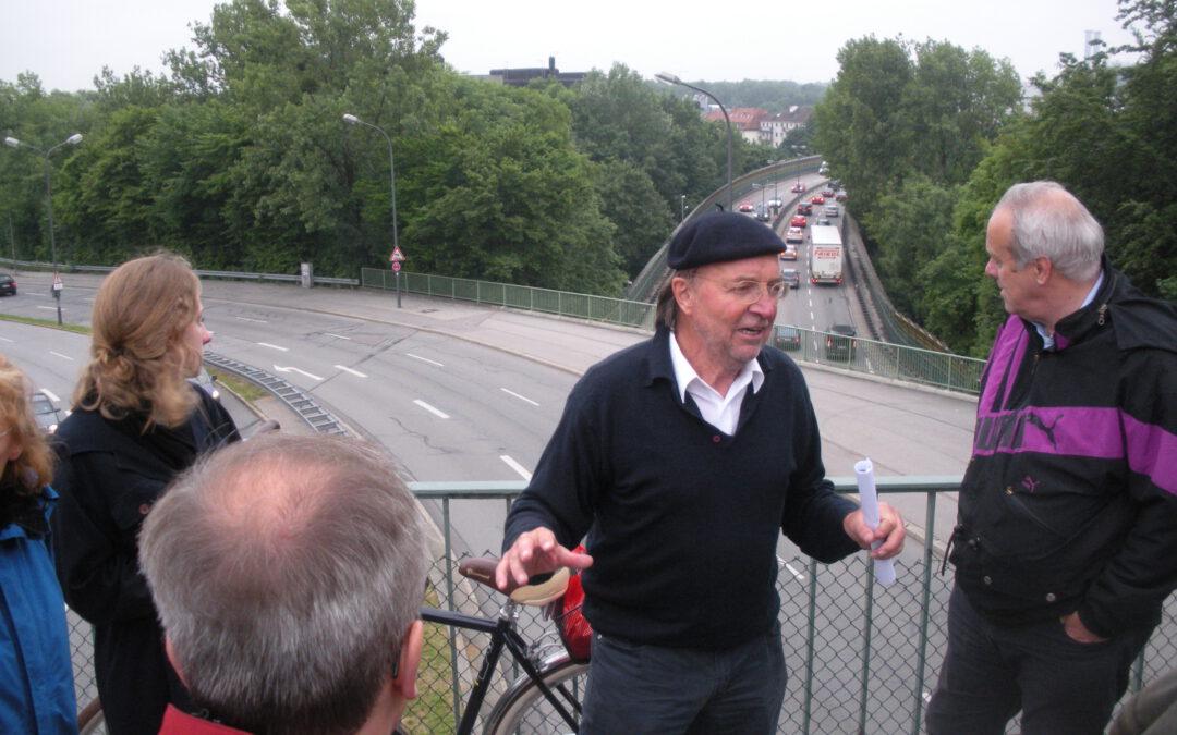 Erkundung der Isar-Hangkante vom Gasteig bis Harlaching