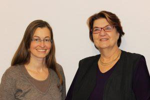 v. l. n. r.: Barbara Specht und Ulla Ammermann