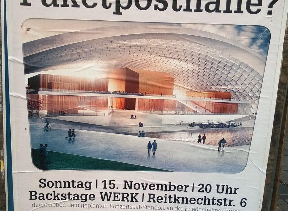 Konzertsaal-Debatte geht in die Schlussgerade
