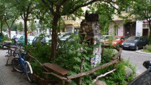 Berlin - Neukölln,  Aneignung des Straßenraums | Foto: Bildhauerin Nele Ströbel