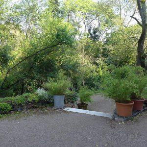 Fläche vor der Erdgeschosszone zur freien Nutzung. Genossenschaft Bochum Stiftstraße  | Foto: Ingrid Krau