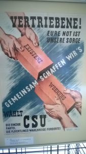 Wahlplakat der CSU zur Landtagswahl am 1. Dezember 1946 | Foto: Klaus Bäumler