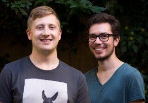 Konstantin Deininger und Johannes Schmidt, die Initiatoren des Projekts | Foto: Judith Oechsle
