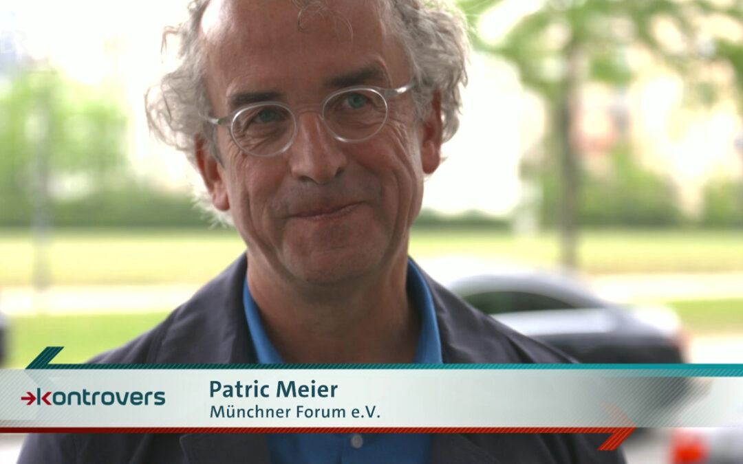 BR-Sendung Kontrovers: Nachhaltige Städteplanung mit Patric Meier vom Münchner Forum