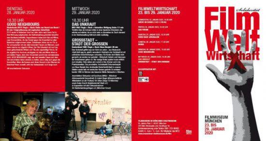 """Filmabend mit Diskussion zum Film: """"Großstadt: Stadt der Großen"""""""