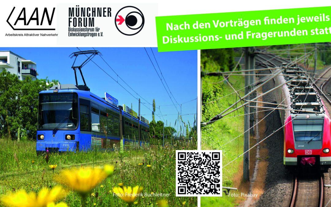 S-Bahn Nordring, U-Bahn, Bus und Tram? – Öffentlicher Nahverkehr im Münchner Norden