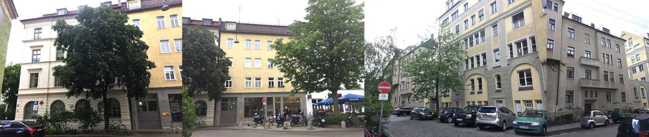 Jane´s Walk rund um den Holzplatz im Glockenbachviertel, ein Stadtspaziergang in Zeiten der Pandemie