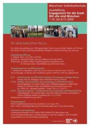 Ausstellung: Engagement für die Stadt. Wir alle sind München