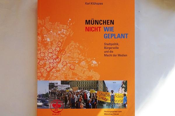 München nicht wie geplant – das Buch