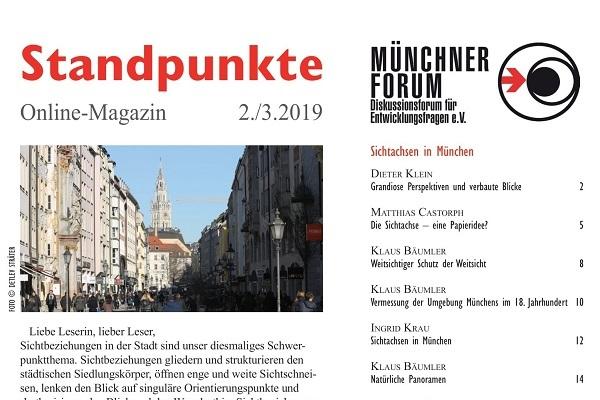 Sichtachsen in München [Standpunkte 02./03.2019]