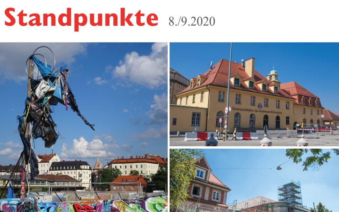 Brückenschlag für neuen Lebens-Mittel-Punkt [Standpunkte 08./09.2020]
