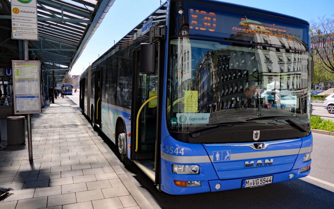 Luftreinhalteplan: Freistaat schiebt Verantwortung fürs eigene Nichtstun ab – Stadt kann kurzfristig nur mit mehr Busspuren reagieren