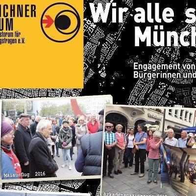 Katalog: Wir alle sind München – Engagement von Bürgerinnen und Bürgern