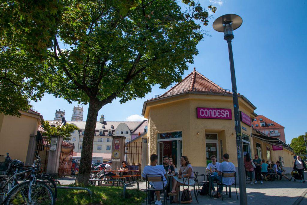 Großmarkthalle am Gotzinger Platz